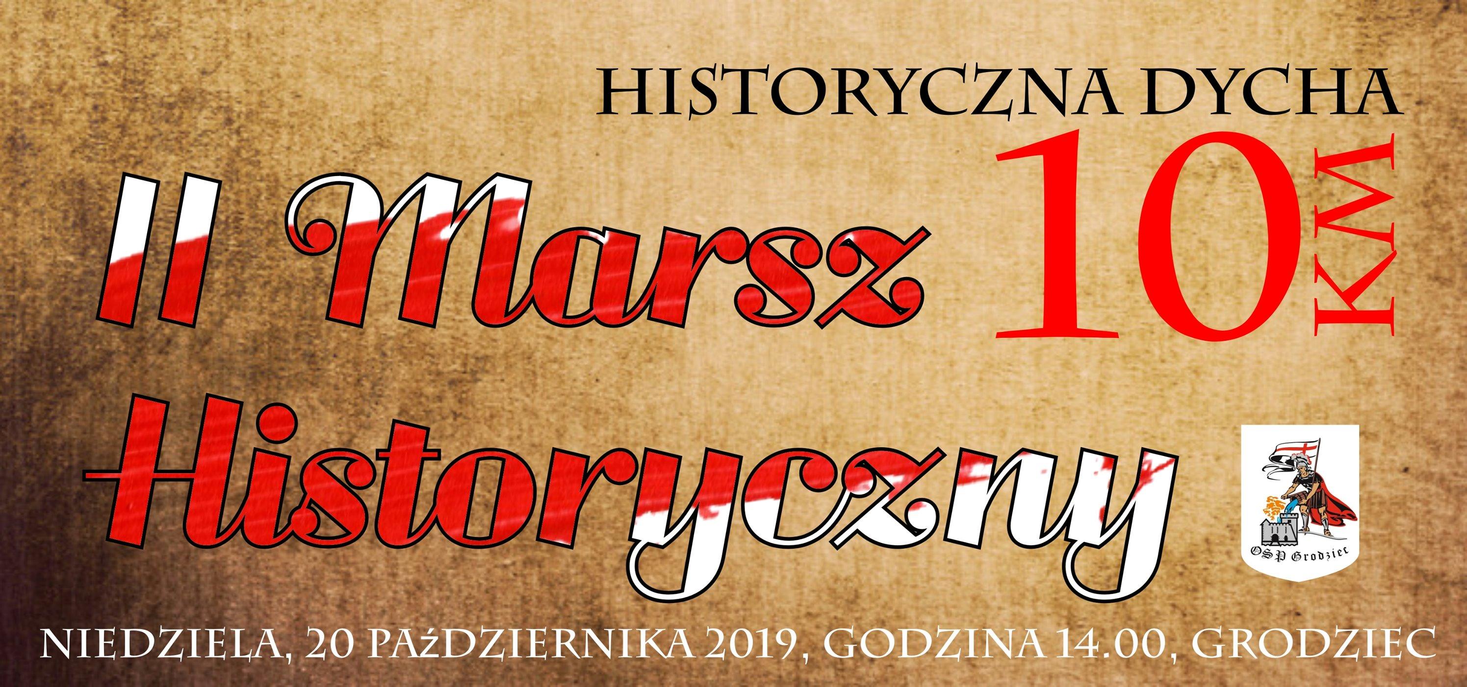 II Marsz Historyczny w Gminie Zagrodo
